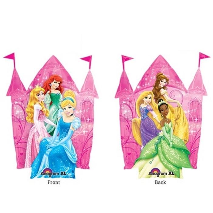 Prensesler Temalı Şato Folyo Balon