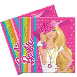 Barbie Temalı Kağıt Peçete