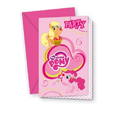 My Little Pony Davetiye
