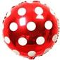 Kırmızı Puanlı Folyo Balon