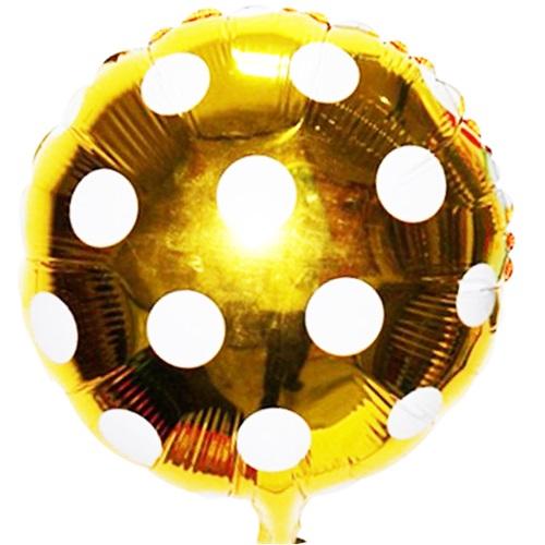 Sarı Puanlı Folyo Balon