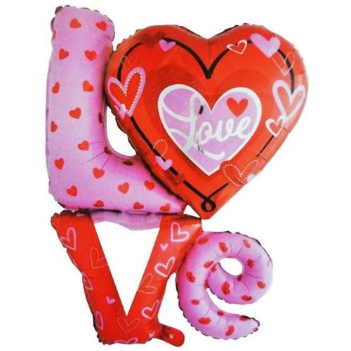 Love Folyo Balon