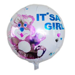 IT'S A Girl Folyo Balon Ayıcıklı