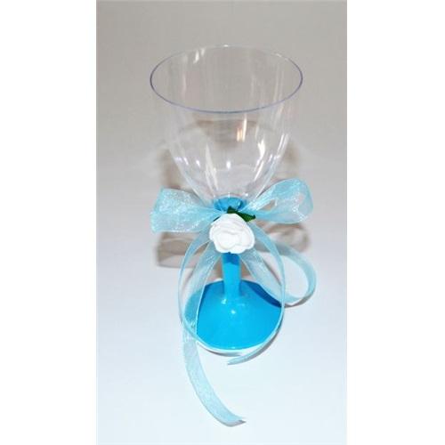 Kişiye Özel Meyve Suyu Bardağı Mavi