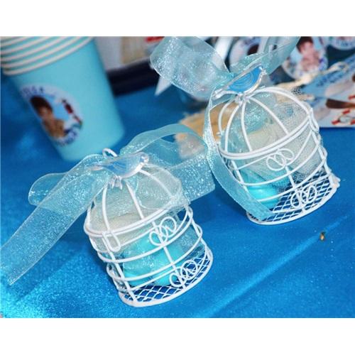 Kafes Şekerlik Mavi