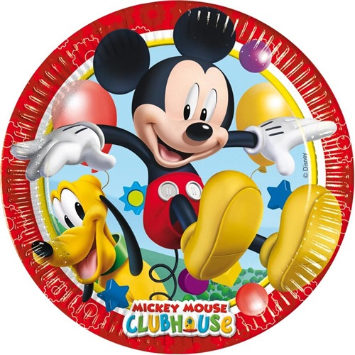 Mickey Club House Temalı Tabak