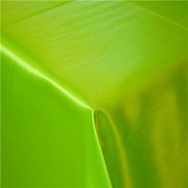 Yeşil Saten Masa Örtüsü
