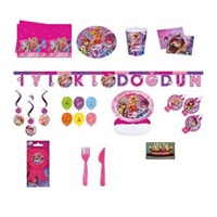 Winx Doğum Günü Parti Seti 8 Kişilik Lüx