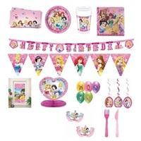 Prenses Temalı Doğum Günü Parti Seti 8 Kişilik Lüx