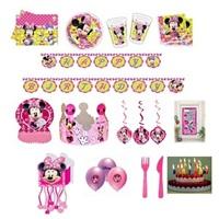 Minnie Mouse Temalı Doğum Günü Set 8 Kişilik Lüx