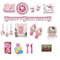 Hello Kitty Doğum Günü Parti Seti