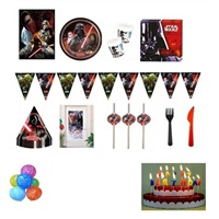 Star Wars Doğum Günü Parti Seti 8 Kişilik Lüx