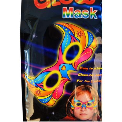 Glow Yüz Maske Kırmızı