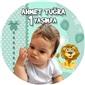 Kişiye Özel Aslan Parçası Sticker