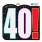 40 Yaş Temalı Asma Poster Süs