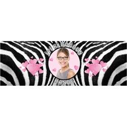 Kişiye Özel Yetişkin Zebra Peçetelik