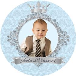 Prens Kişiye Özel Sticker