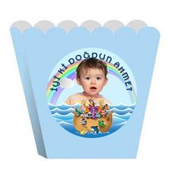 Kişiye Özel Nuhun Gemisi Popcorn Kutusu