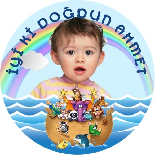 Kişiye Özel Nuhun Gemisi Sticker