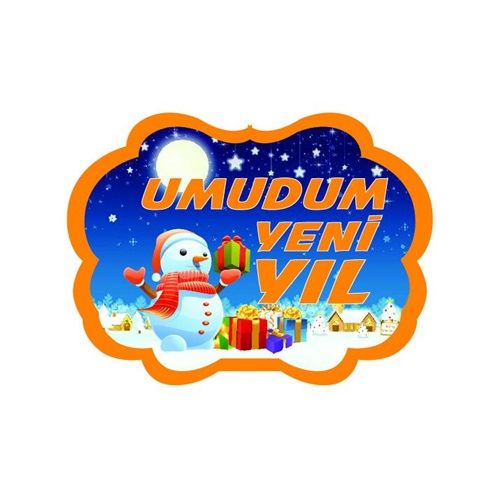 Umudum Yeni Yıl Konuşma Balonu