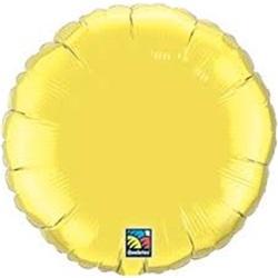 Folyo Balon Yuvarlak Sarı