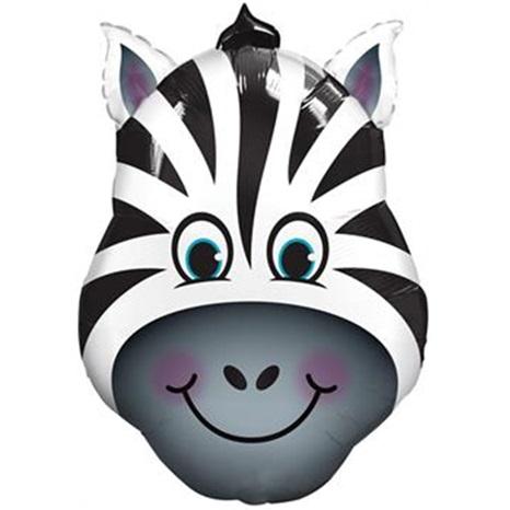 Zebra Folyo Balon