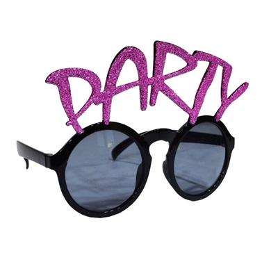 Mor Simli Party Gözlük