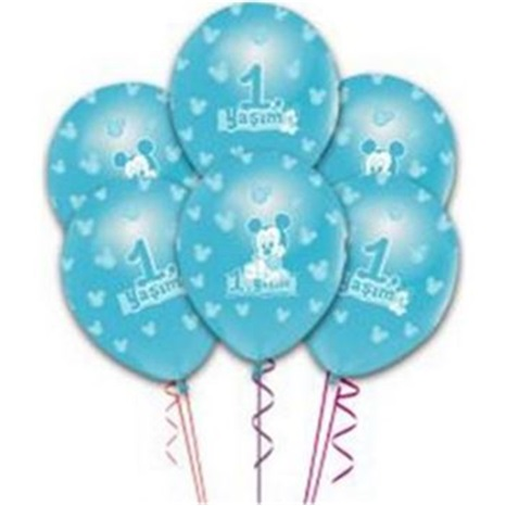 Baby Mickey Mouse Temalı Balon