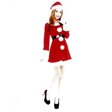 Yılbaşı Noel Anne Lüks Kostümü