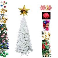 Yılbaşı Ağacı Beyaz Lüx 139 Parça