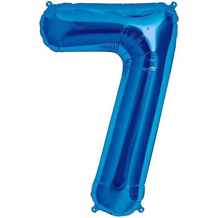 7 Folyo Balon Mavi