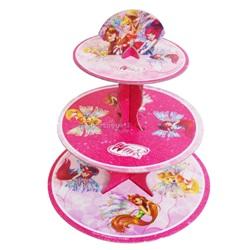 Winx 3 Katlı Cupcake Standı