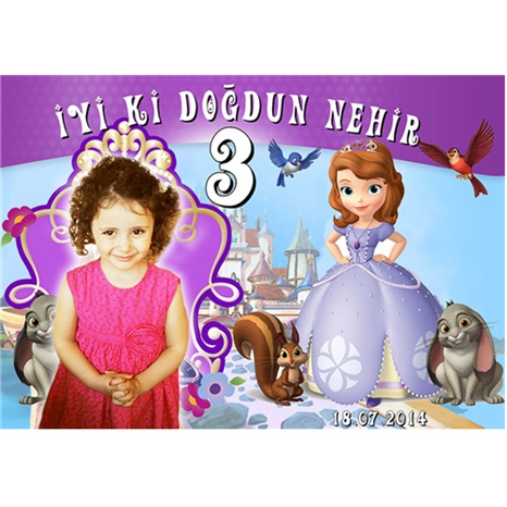Kişiye Özel Sofia Magnet