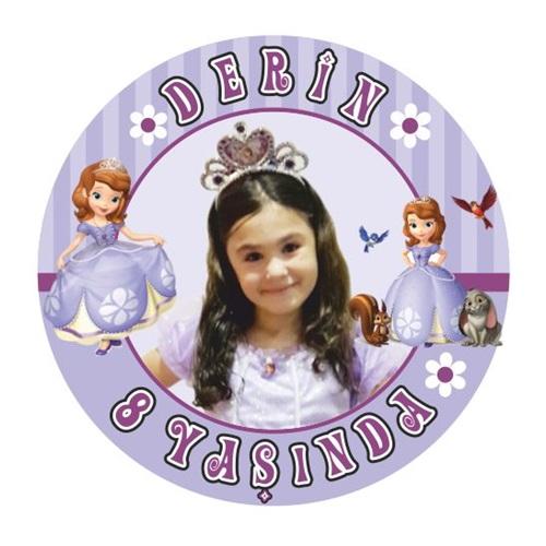Kişiye Özel Sofia Sticker