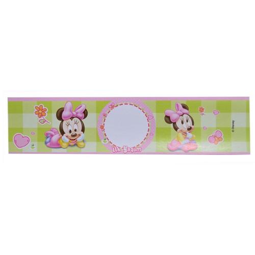 Baby Minnie Mouse Temalı Su Şişe Bandı