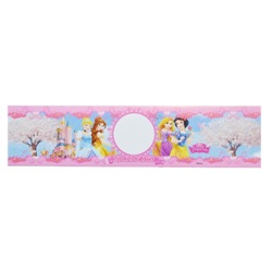 Prensesler Temalı Su Şişe Etiketi