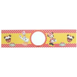 Minnie Mouse Temalı Fashion Su Şişe Etiketi