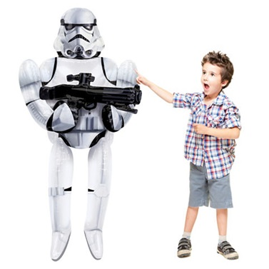 Star Wars Airwalkers Büyük Folyo Balon