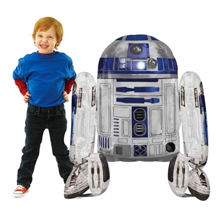 Star Wars Airwalkers Robot Folyo Balon