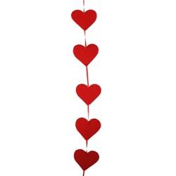 Sevgililer Günü Mini Kalp Asma Süs