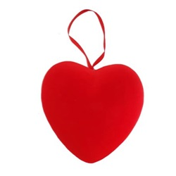 Sevgililer Günü Tekli Kalp Süs