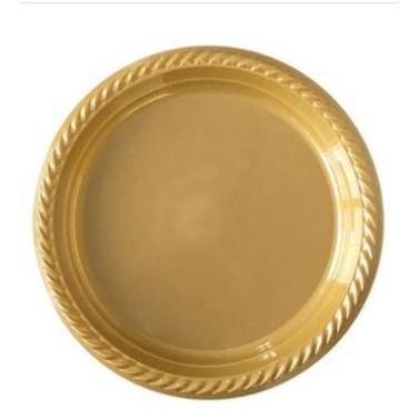 Gold Plastik Tabak Küçük