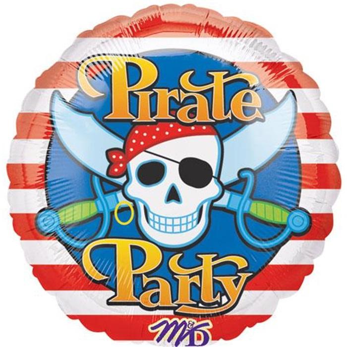 Pirate Party Folyo Balon