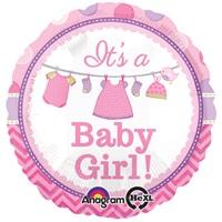 Baby Girl Temalı Folyo Balon