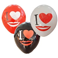 I Love You Latex Balon 100 Ad
