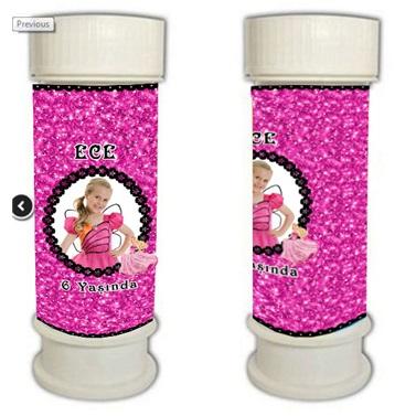 Kişiye Özel Barbie Temalı Köpük Süs
