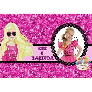 Kişiye Özel Barbie Temalı Hediyelik Magnet