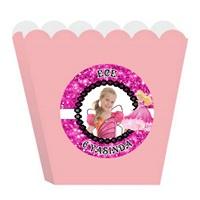Kişiye Özel Barbie Temalı Popcorn