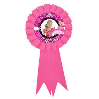 Kişiye Özel Barbie Temalı Hediyelik Rozet