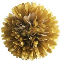 Ponpon Çiçek Gold